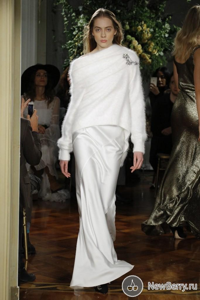 Элегантные и утонченные образы в коллекции Alberta Ferretti Haute Couture весна-лето 2017