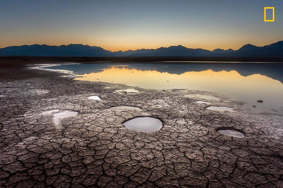 Высыхающий водоем