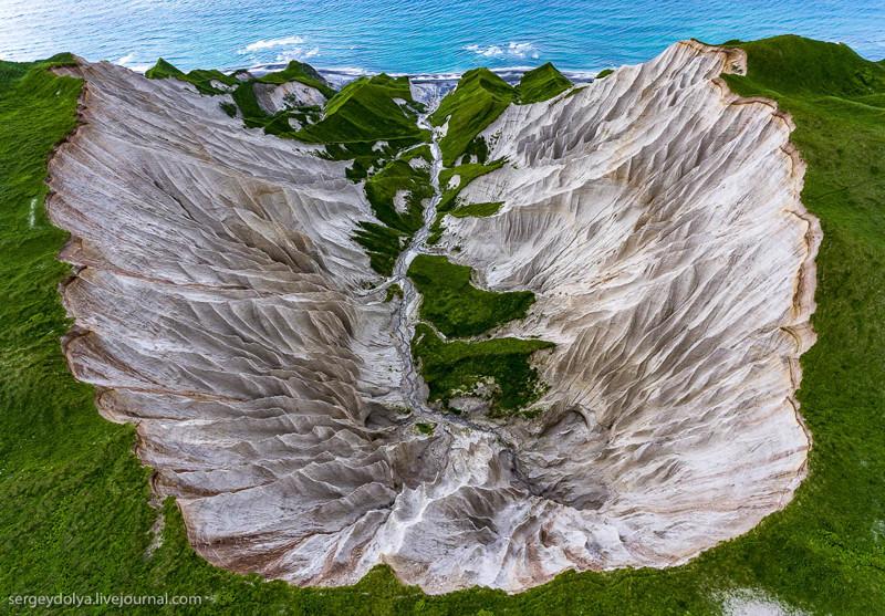 Чудо природы на Курильских островах