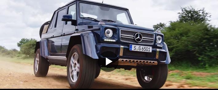 Mercedes показал 5 своих самых любимых роскошных моделей на видео