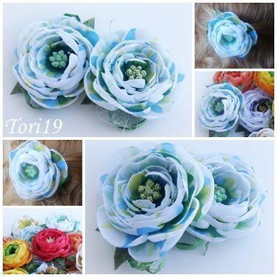 Цветы из ткани: восхищают, приносят радость и вдохновляют в любое время года