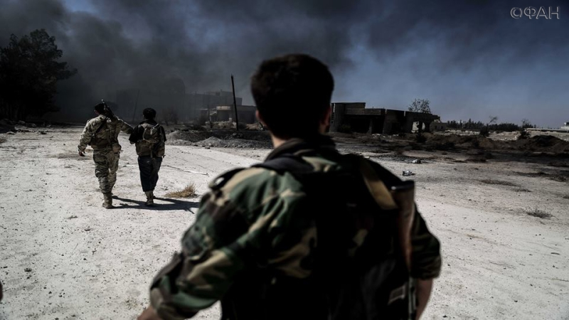 Противостояние в Дараа: армия САР отбивается от атак ИГИЛ на окраине Аль-Маншия