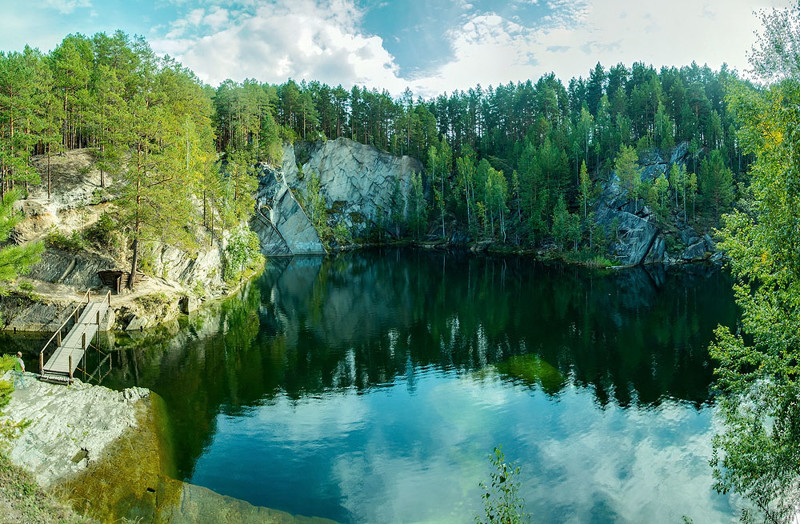 Очень красивое озеро