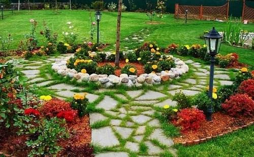 Идеи декора для сада — оформление дачного участка со вкусом