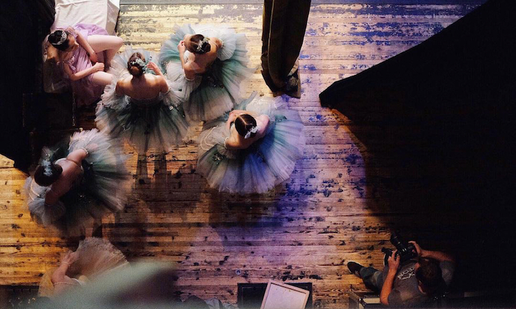 Закулисье русского балета в фотографиях балерины Дарьяны Волковой