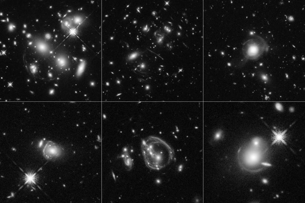 Галактики через увеличительное стекло