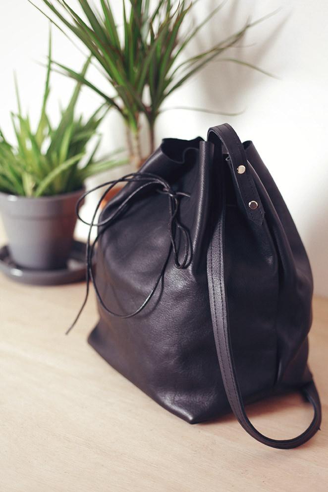 Кожаная сумка своими руками. Выкройка и мастер-класс