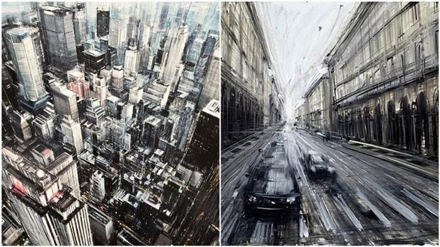 Городские пейзажи Valerio D'ospina