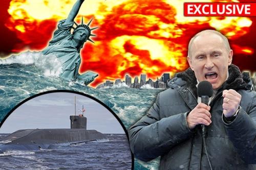 Русское атомное ЦУНАМИ: Путинские подводные лодки закладывают глубоководные бомбы, готовые уничтожить США!