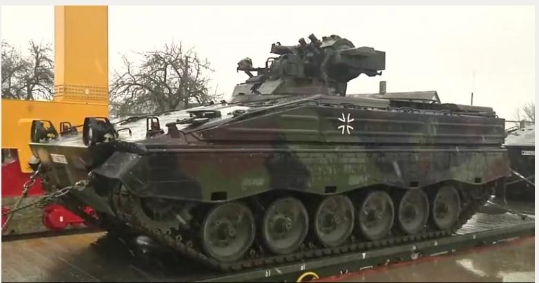 Die Zeit: в Литву прибыла немецкая бронетехника — для защиты от России