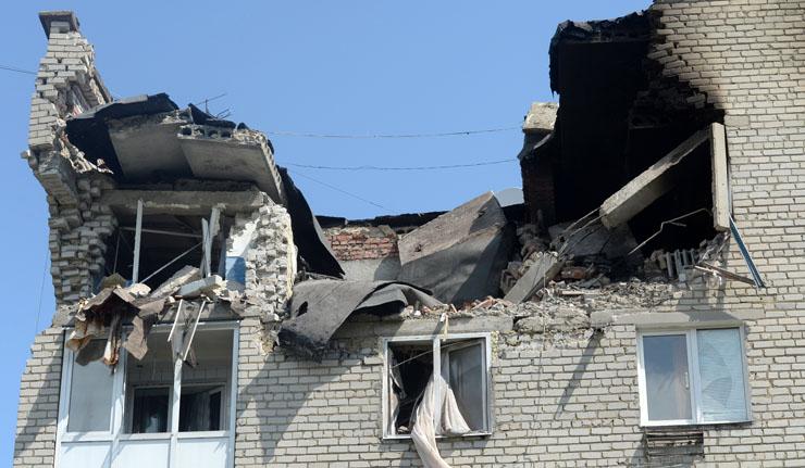 Донецк – 01.02.2017 очередной укробстрел