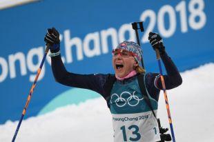 Биатлонистка Кузьмина: Шипулин попросил выиграть медаль для себя и для него