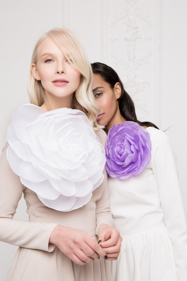 Красота и женственность в весенней коллекции бренда «Белое золото»