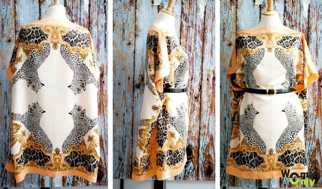 Как сшить платье из двух платков своими руками фото 32
