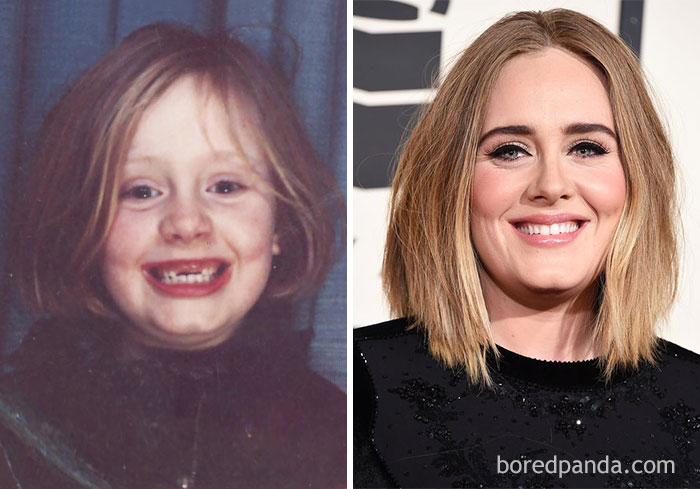 10+ Rare Celebrity Childhood Photos Show Barely Recognizable Stars