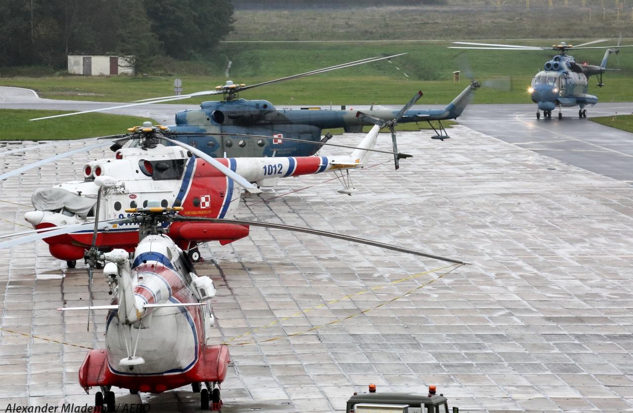 Состояние и перспективы парка польских вертолетов Ми-14