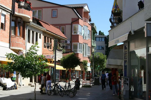 Охрид центр города