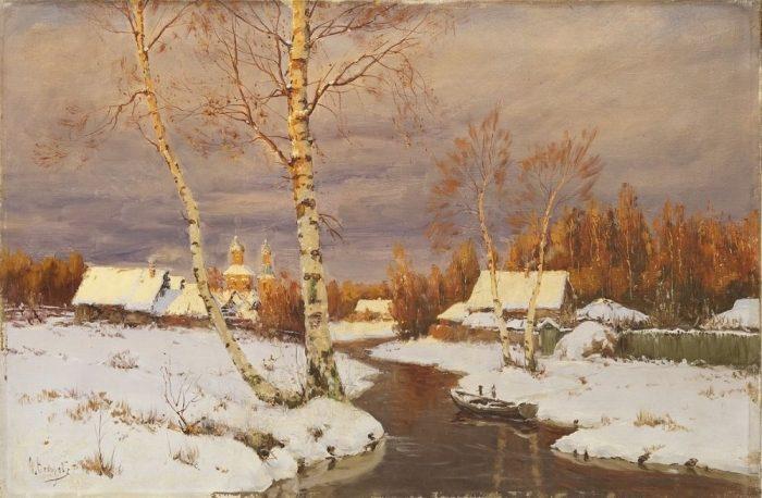 Такие родные пейзажи известного русского живописца Семена Федоровича Федорова