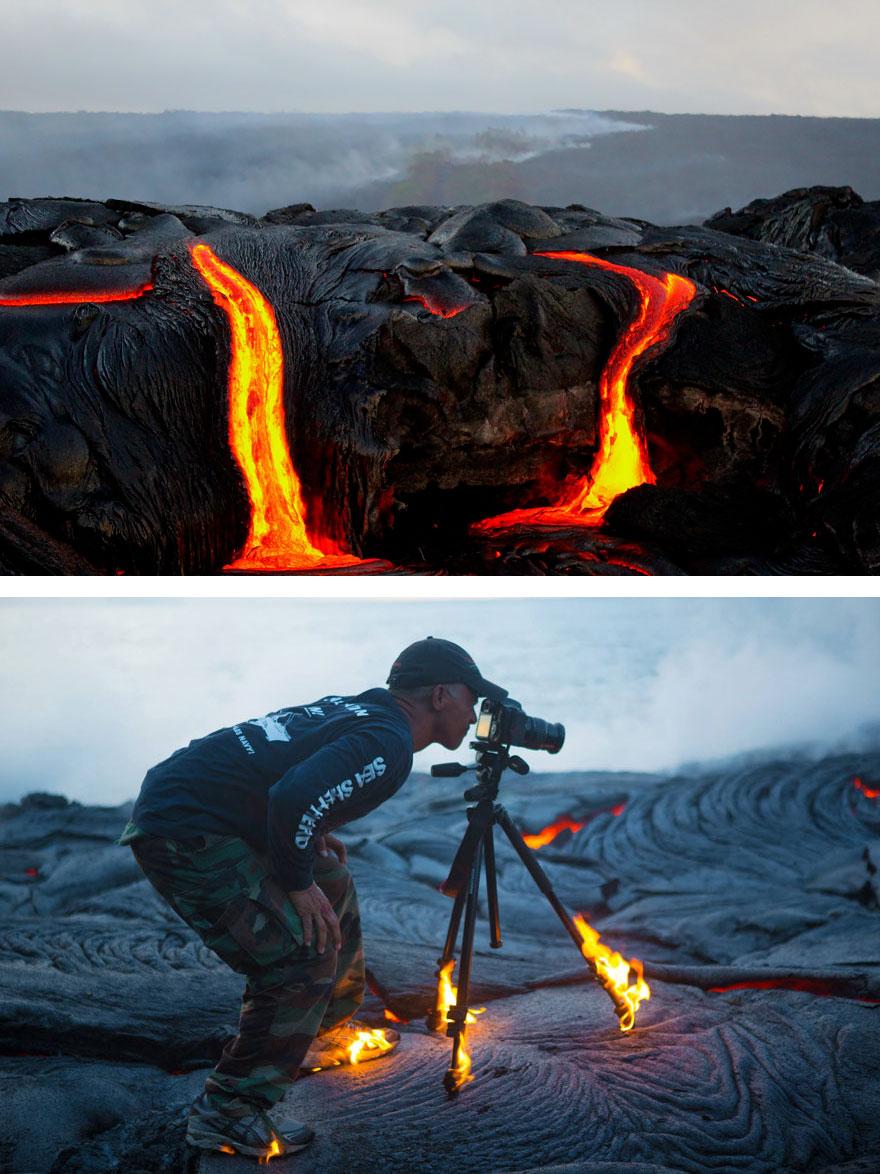 Как снимают красивые фотографии