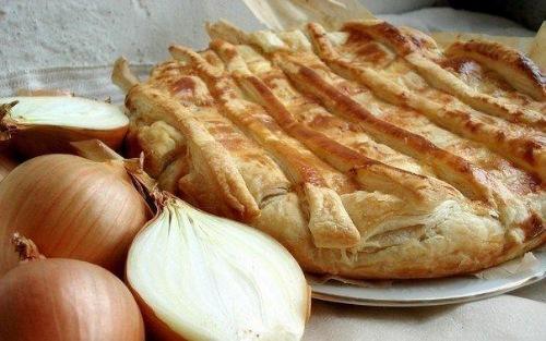 Луковый пирог вкусняшка