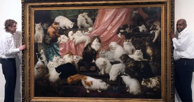 «Любовники моей жены» и еще 5 самых дорогих картин с кошками, когда-либо проданных на аукционах