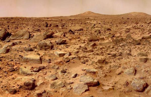 Под поверхностью Марса находится большое ледяное море