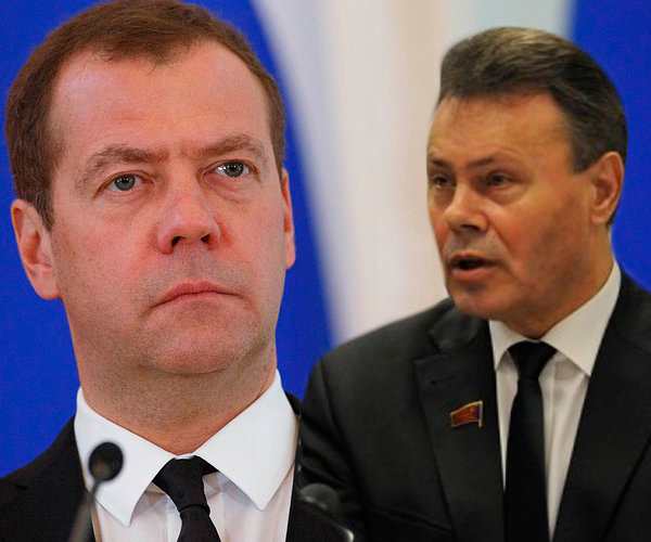 Депутат Арефьев: правительство Медведева щедро финансирует экономику многих стран, но не экономику России