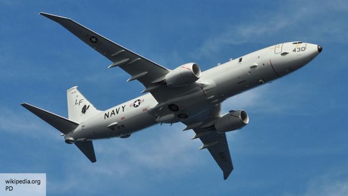 Американский самолёт-разведчик подлетел к Крыму ...и...