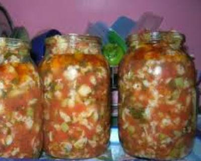 салат с капустой брокколи на зиму