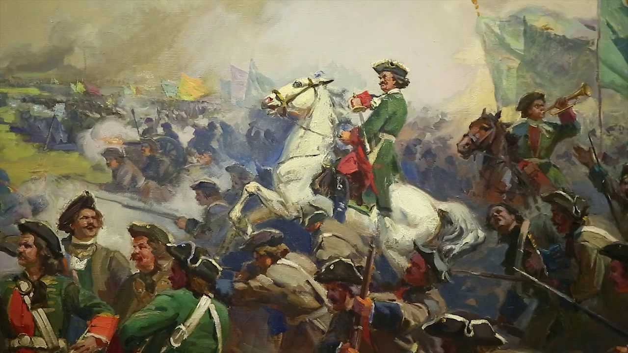Чем отличается Полтавская битва от футбольного матча?