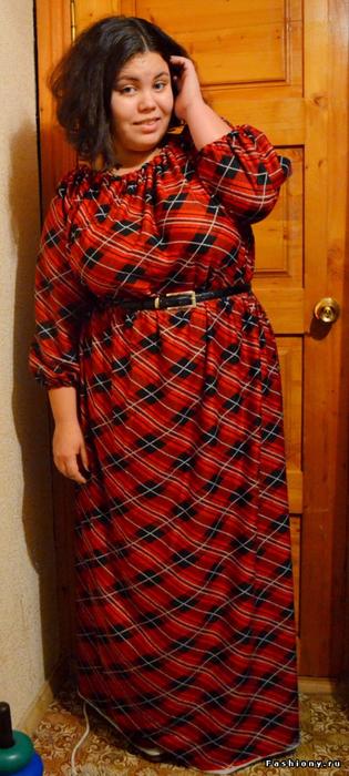 Шьём платье в пол за 2 часа