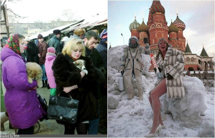 Время перемен: 18 ретро фотографий Москвы «лихих 90-х»