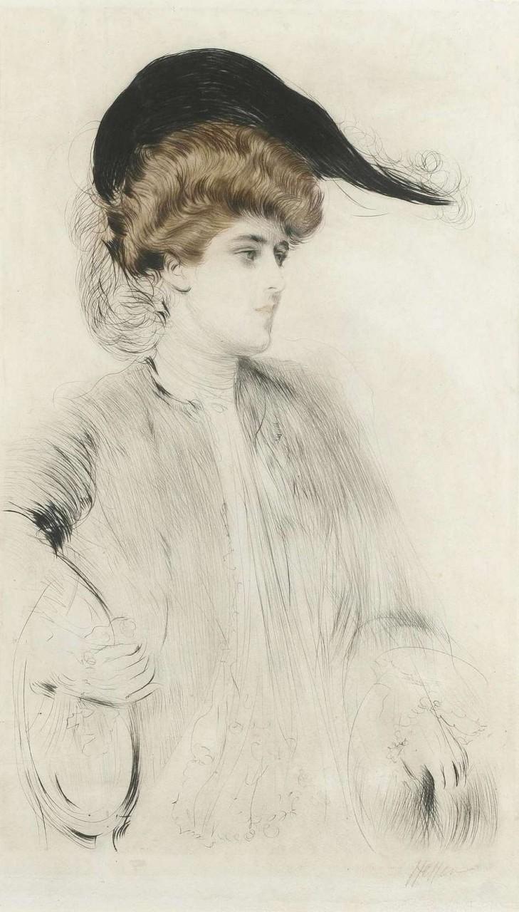 Шляпки. Художник Поль Сезар Эллё 1859 — 1927