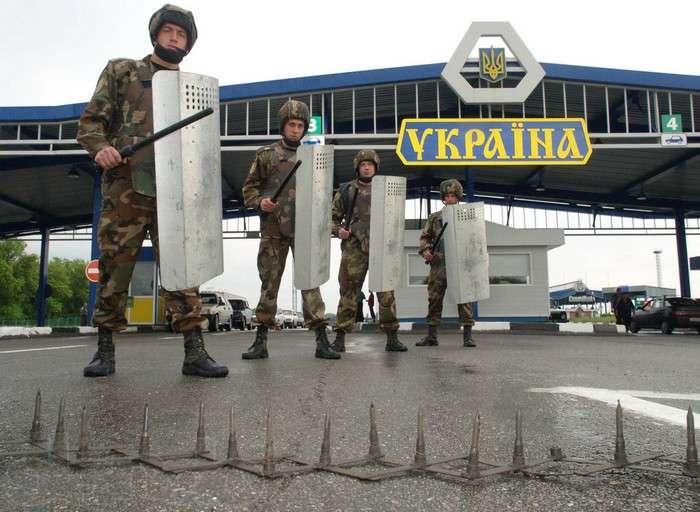 Российские пограничники в Кр…