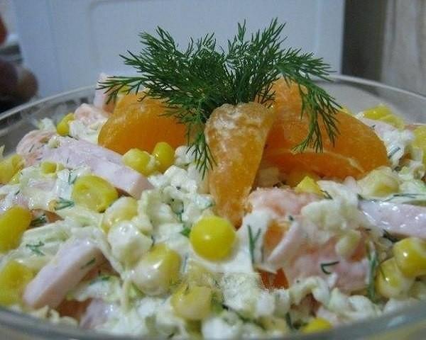Красивый и вкусный салат «Новогодний. Понравится всем, без исключения!