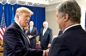 Трамп и Порошенко опозорились в Нью-Йорке