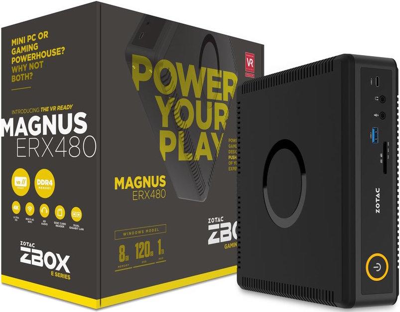 Magnus ERX480: первый мини-ПК с AMD Radeon RX 480