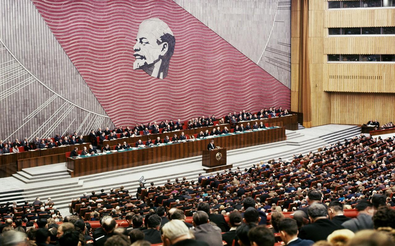 XXIII съезд КПСС. В зале заседаний Кремлевского Дворца съездов. Фото: © РИА Новости