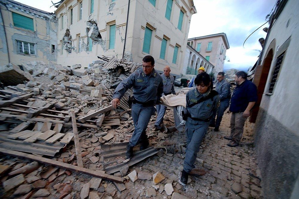 Новое землетрясение зафиксировано в Италии