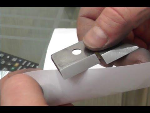 Как заточить ножи рыболовного бура в домашних условиях