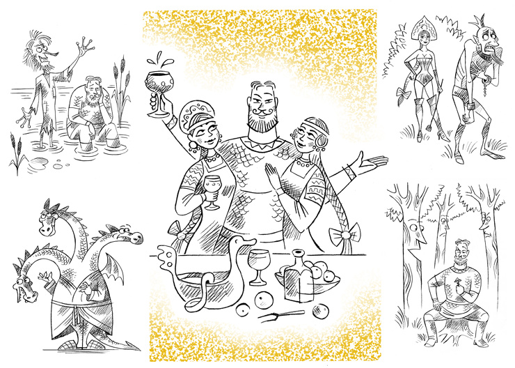 Амба-комикс: Приключения бог…