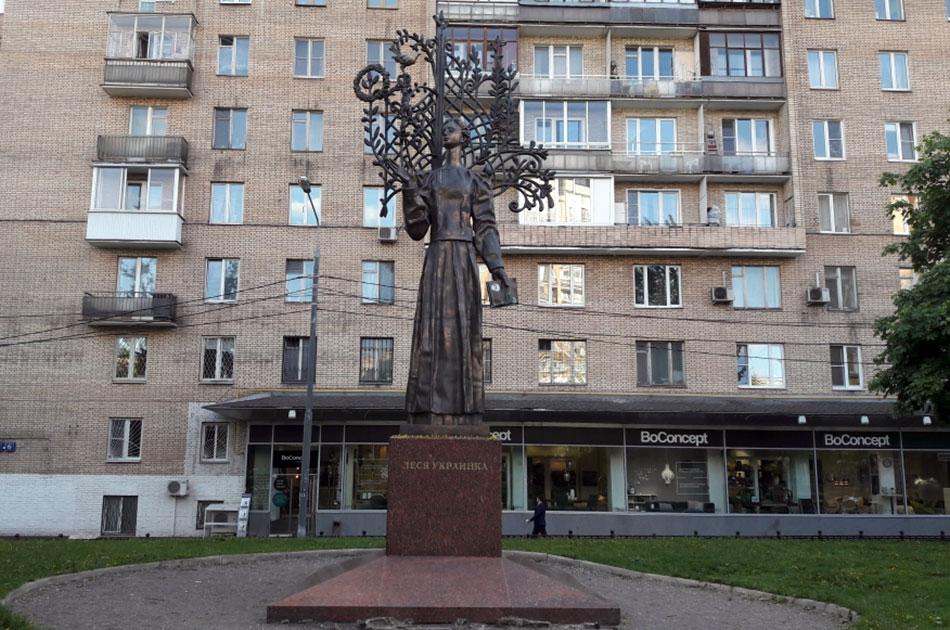 Украинские места в Москве и российские в Киеве