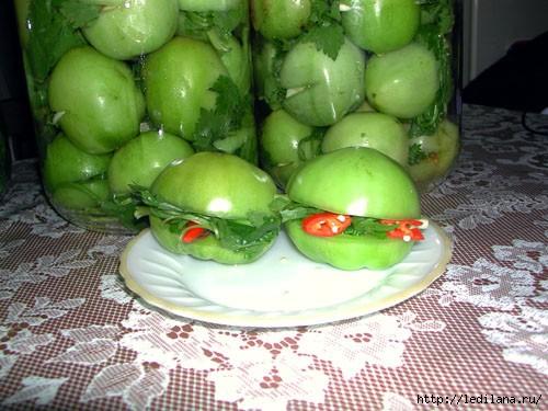 Вкусные рецепты из зеленых помидоров, а вы их уже пробовали?