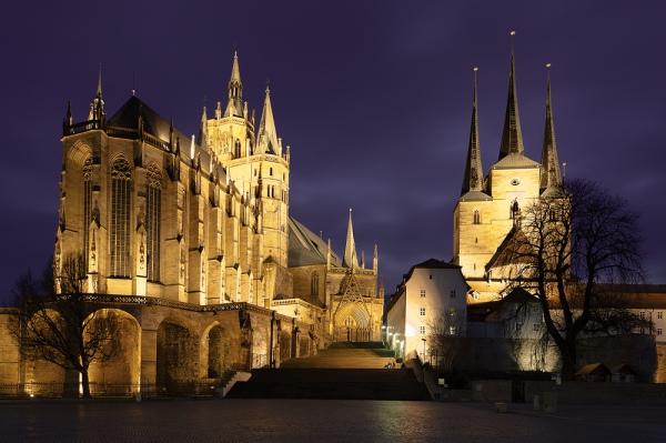 Эрфурт. 10 самых красивых городов Германии. Интересные города Германии, которые обязательно стоит посетить. Фото с сайта NewPix.ru