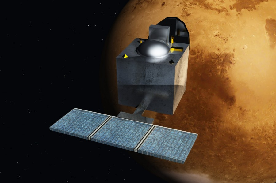 «Мангальян»: 1000 дней на марсианской орбите