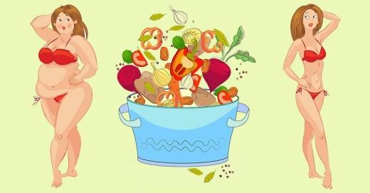 9 продуктов, которые разъедают жир! Минус 4 кг в месяц без намека на голод!