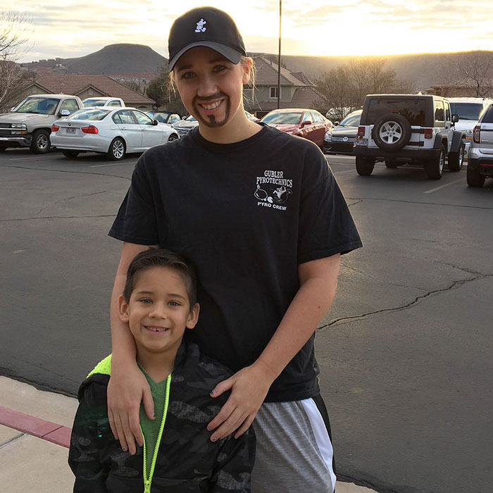 Single Mom Goes Undercover As Dad So Her Son Wouldn't Miss 'Donuts With Dad' Day