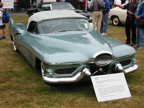 Как выглядел автомобиль будущего в 1951 г