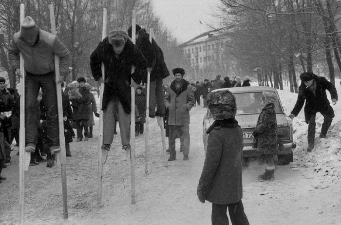 Черно-белое прошлое СССР
