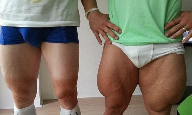 Фотографии удивительных тел олимпийцев, которые просто надо видеть